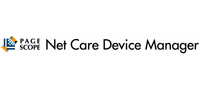 PageScope Net Care Device Manager