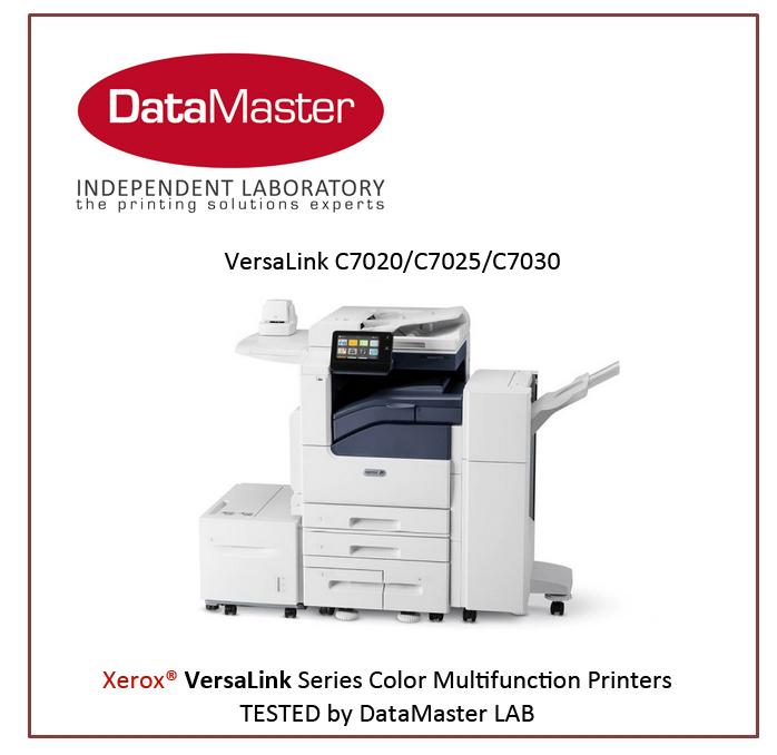 DataMaster : DataMaster Lab teste les nouveaux équipements de la série VersaLink C70XX de XEROX