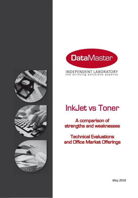 DataMaster : inkjet vs toner