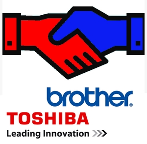DataMaster : Brother et Toshiba annonce leur partenariat