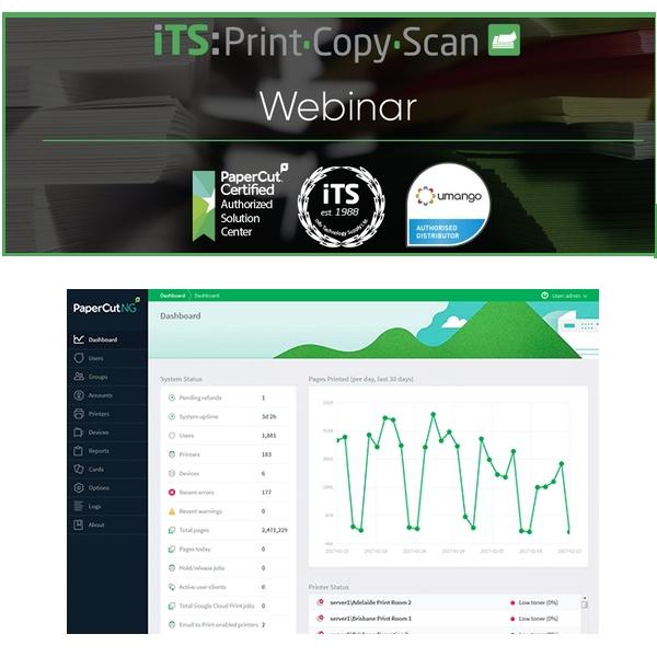 DataMaster : Découvrez les nouveautés de PaperCut 18.3 avec Info Technology Supply (iTS)