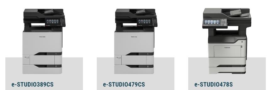 Printer Benchmark : Three new A4 MFPs from Toshiba