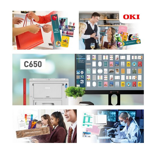 Printer Benchmark : The C650 printer, OKI Europe's new versatile A4
