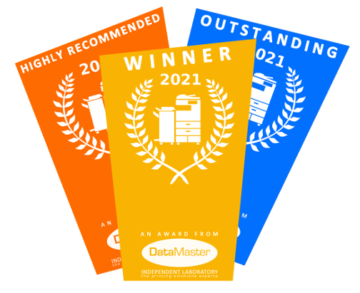 Printer Benchmark : DataMaster Print Awards 2021 - Office Copiers which are the Easiest to Use