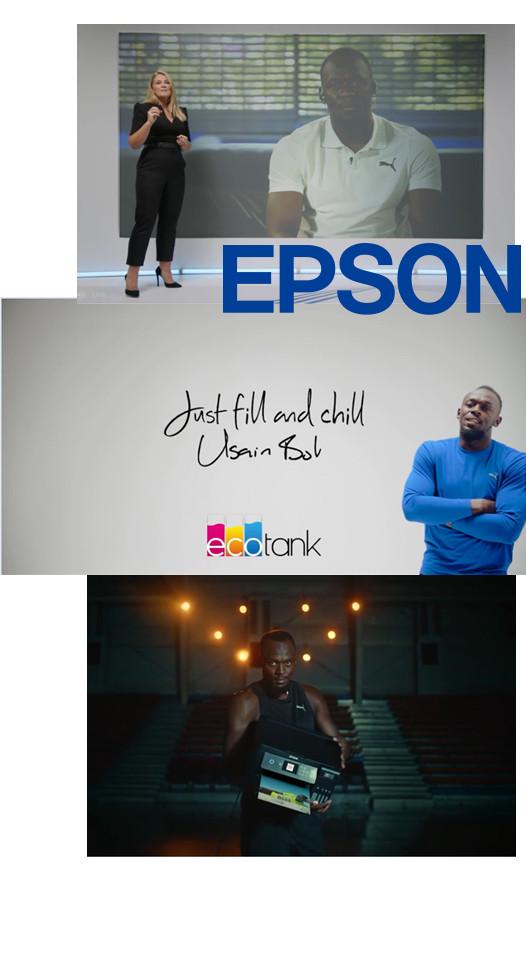 DataMaster : Le nouvel ambassadeur d'Epson pour l'Europe : Usain Bolt