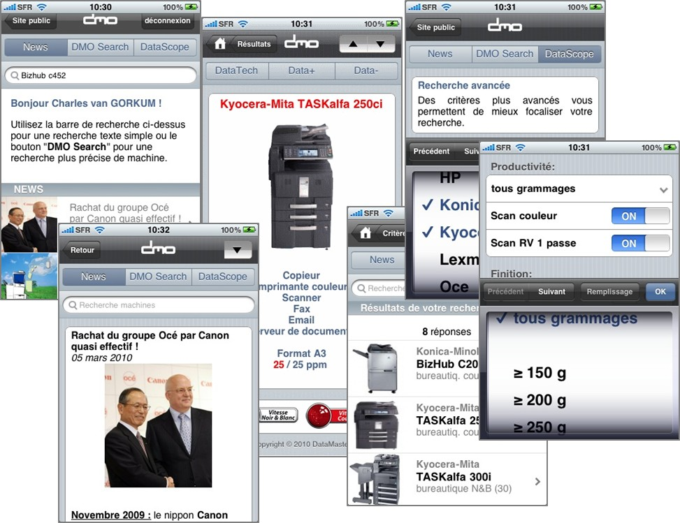 DataMaster : Jour J pour DMO sur l'iPhone !