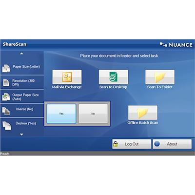 DataMaster :  Nuance livre eCopy ShareScan version 5