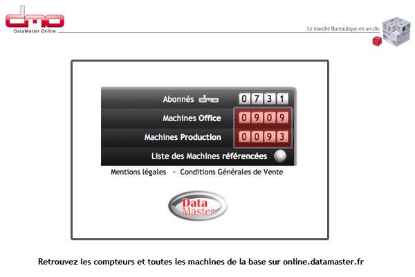 DataMaster : DMO dépasse la barre des 1000 machines !