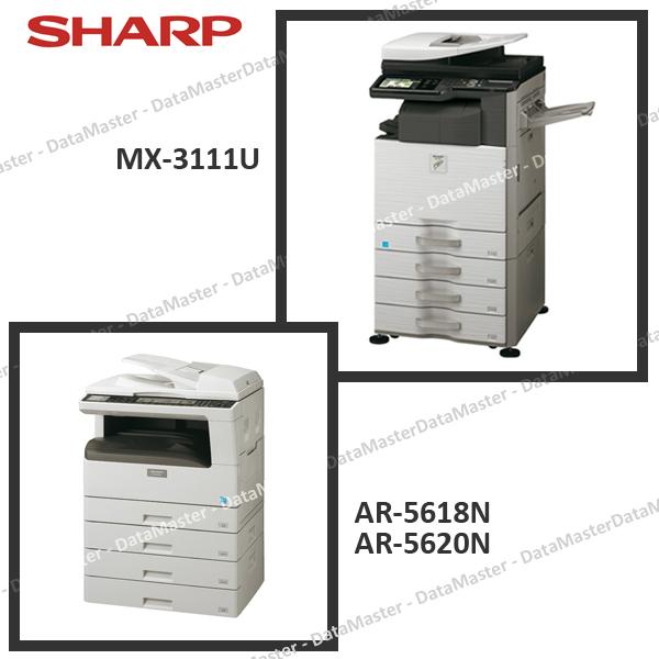 DataMaster : Sharp lance le nouveau MX-3111U et renouvelle 2 petits MFP A3 N&B