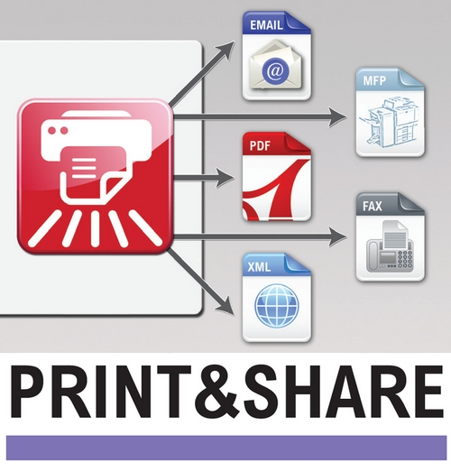 DataMaster : Ricoh France lance Print & Share, solution pour l'automatisation du traitement des documents