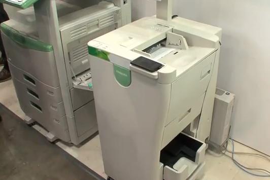 DataMaster : Toshiba invente la machine à effacer l'encre !