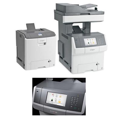 DataMaster : Lexmark annonce deux séries d'imprimantes et de MFP laser couleur