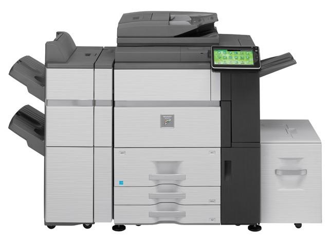 DataMaster : Sharp arrive sur le marché de la production couleur