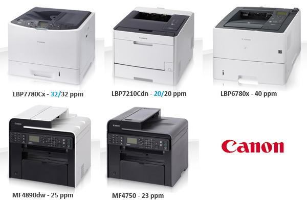 DataMaster : Canon lance 12 nouveaux matériels A4 d'ici février 2013