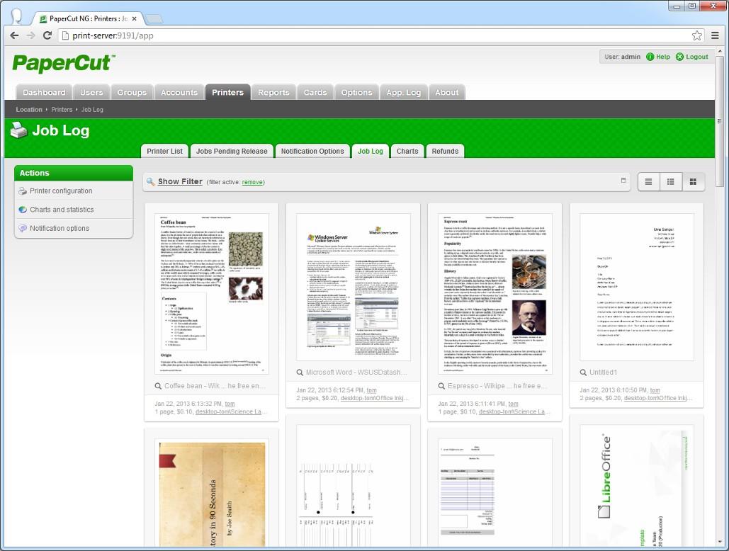 DataMaster : Sortie de la version 13.0 de PaperCut, avec la fonction 'archivage de l'impression'