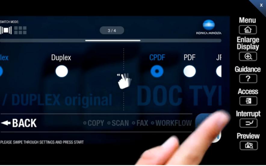 DataMaster : Konica Minolta sort trois nouveaux modèles A3 couleur de 22 à 36 ppm