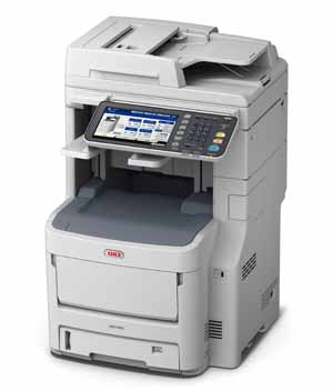 DataMaster : OKI lance une nouvelle gamme de multifonctions A4 couleur : la série MC700