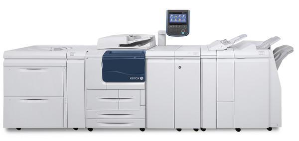 DataMaster : DataMaster teste la Xerox D125