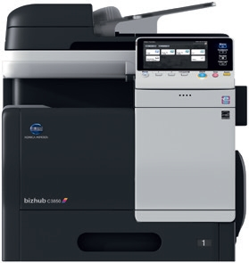 DataMaster : DataMaster teste le MFP A4 couleur Konica Minolta bizhub C3850