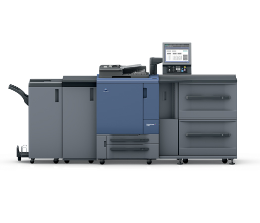 DataMaster : DataMaster teste la Konica Minolta bizhub PRESS C1060