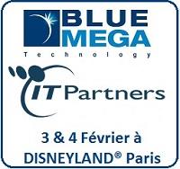 DataMaster : Rencontrez Bluemega sur l'IT Partners les 3 & 4 Février