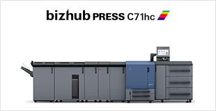Printer Benchmark : Konica Minolta launch a new high-saturation digital press, the bizhub PRESS C71hc