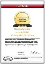 DataMaster : DataMaster attribue cinq étoiles aux Konica Minolta bizhub C308 / C368