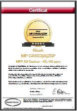 Printer Benchmark : DataMaster lab evaluation of the Ricoh MP C4503(A)ZSP, C4503ZSP et C4503(A)SP range