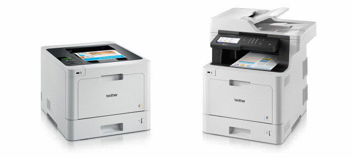 Printer Benchmark : Brother widens its color laser range with the L8000 and L9000 series