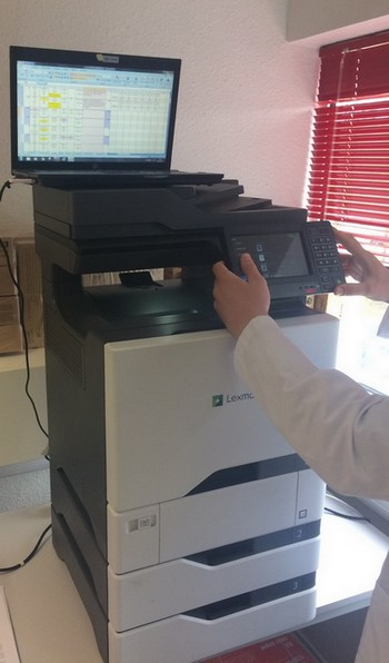Printer Benchmark : DataMaster Lab tests the Lexmark CX725 A4 Color MFP