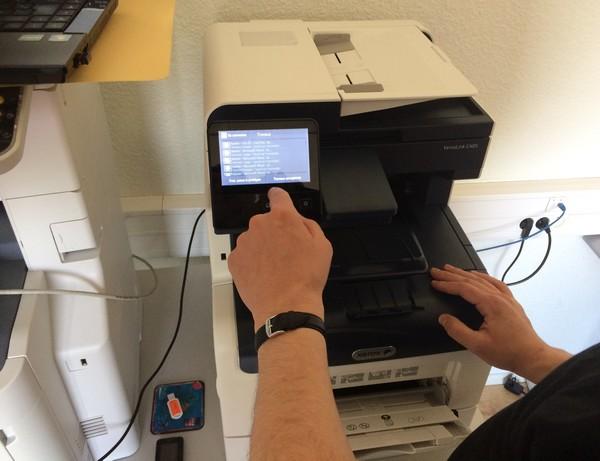 DataMaster : Batterie de tests en revue pour le MFP Xerox VersaLink C405